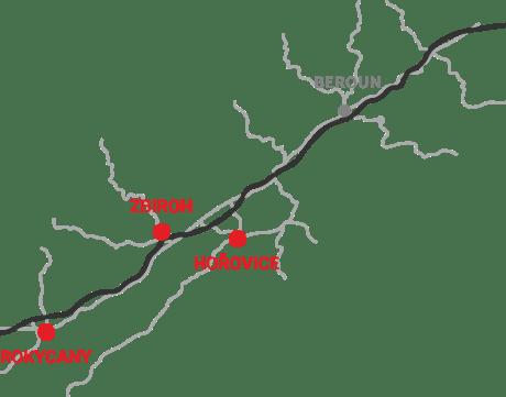 Instavbau - mapa
